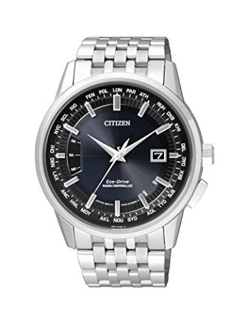 Citizen Herren-Armbanduhr RADIO CONTROLLED Analog Quarz Edelstahl CB0150-62L - 1