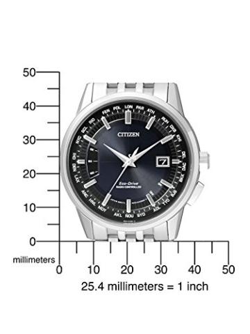 Citizen Herren-Armbanduhr RADIO CONTROLLED Analog Quarz Edelstahl CB0150-62L - 2