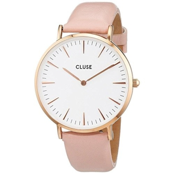 Cluse Damen-Armbanduhr Analog Quarz Leder CL18014 - 1