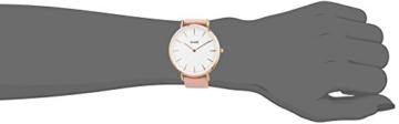 Cluse Damen-Armbanduhr Analog Quarz Leder CL18014 - 4