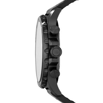 Fossil Herren Armbanduhr Nate - mit Lederarmband / Analoguhr mit Chronographen-Funktion & Datumsanzeige - 10 bar Wasserdichtigkeit - 3