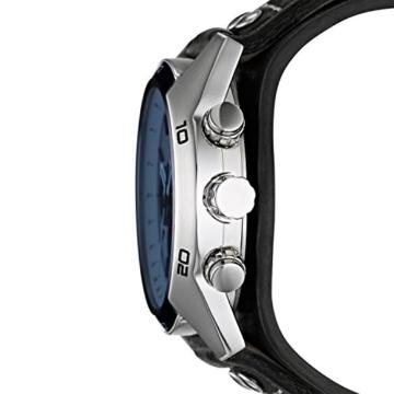 Fossil Herren Armbanduhr wasserdicht Coachman  / Lederband Uhr mit Chronographen-Funktion, Datumsanzeige & Tachymeter - 2