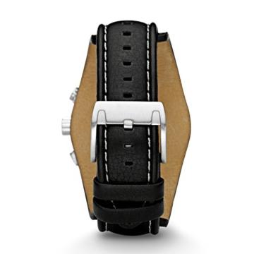 Fossil Herren Armbanduhr wasserdicht Coachman  / Lederband Uhr mit Chronographen-Funktion, Datumsanzeige & Tachymeter - 3