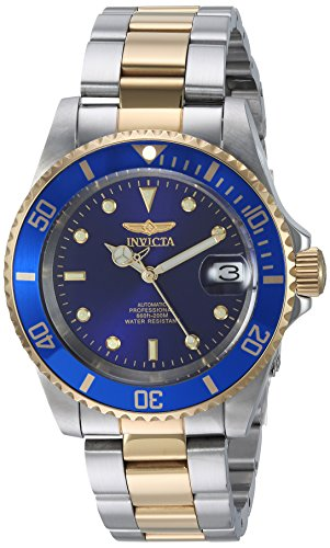 Invicta 8928OB Pro Diver Unisex Uhr Edelstahl Automatik blauen Zifferblat - 1