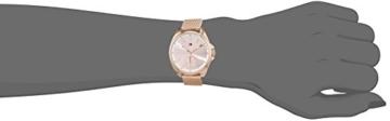 Tommy Hilfiger Damen Analog Quarz Uhr mit Edelstahl beschichtet Armband 1781756 - 2