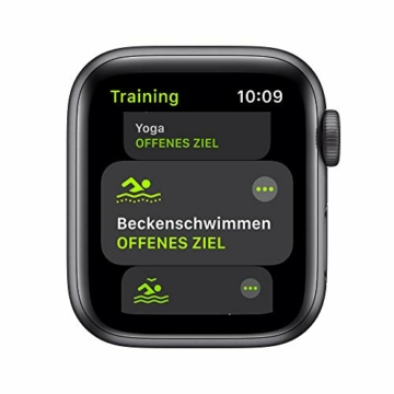 AppleWatch SE (GPS, 40mm) Aluminiumgehäuse Space Grau, Sportarmband Schwarz - 3