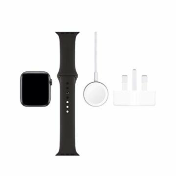 Apple Watch Series 5 44mm (GPS) - Aluminiumgehäuse Space Grau Schwarz Sportarmband (Generalüberholt) - 6