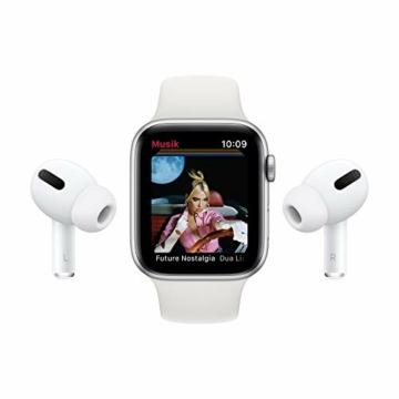AppleWatch Series6 (GPS+ Cellular, 44mm) Aluminiumgehäuse Space Grau, Sportarmband Schwarz - 8
