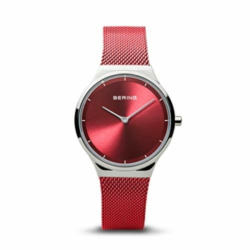 BERING Damen Analog Quartz Uhr mit Milanaise Armband 12131-303 - 1