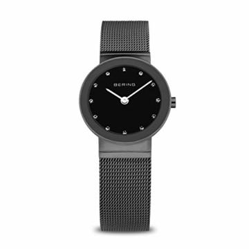 Bering Damen Analog Quarz Armbanduhr mit Edelstahl Armband 10126-077 - 1