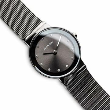 Bering Damen Analog Quarz Armbanduhr mit Edelstahl Armband 10126-077 - 3