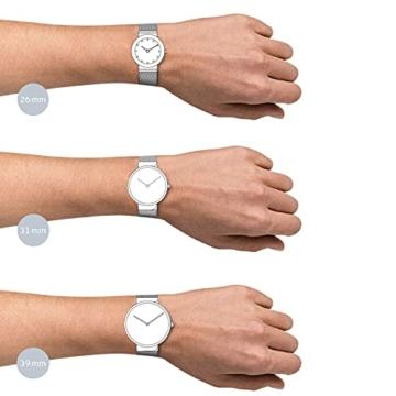 Bering Damen Analog Quarz Armbanduhr mit Edelstahl Armband 10126-077 - 4