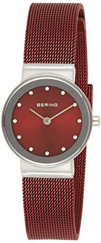 BERING Damen Analog Quarz Uhr mit Edelstahl Armband 10126-303 - 1