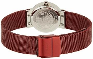 BERING Damen Analog Quarz Uhr mit Edelstahl Armband 10126-303 - 2