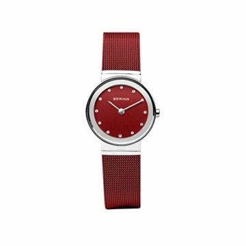 BERING Damen Analog Quarz Uhr mit Edelstahl Armband 10126-303 - 4