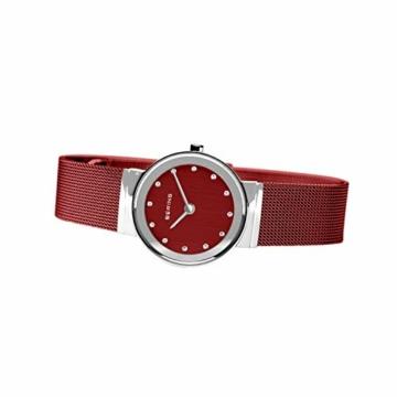 BERING Damen Analog Quarz Uhr mit Edelstahl Armband 10126-303 - 5