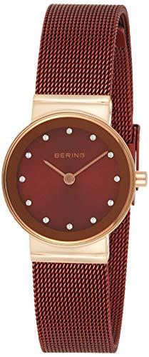 Bering Damen Analog Quarz Uhr mit Edelstahl Armband 10126-363 - 1