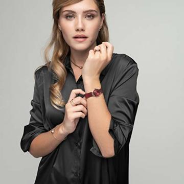Bering Damen Analog Quarz Uhr mit Edelstahl Armband 10126-363 - 11