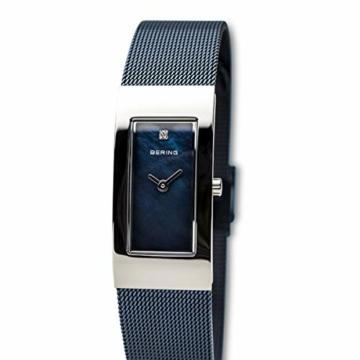 Bering Damen Analog Quarz Uhr mit Edelstahl Armband 10817-307 - 2