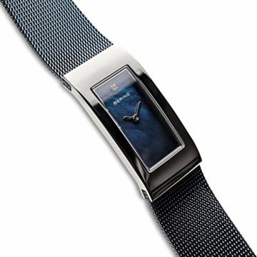 Bering Damen Analog Quarz Uhr mit Edelstahl Armband 10817-307 - 3
