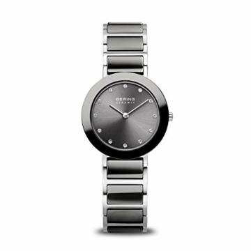 BERING Damen Analog Quarz Uhr mit Edelstahl Armband 11429-783 - 1