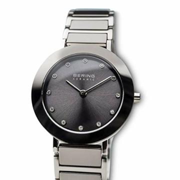 BERING Damen Analog Quarz Uhr mit Edelstahl Armband 11429-783 - 2
