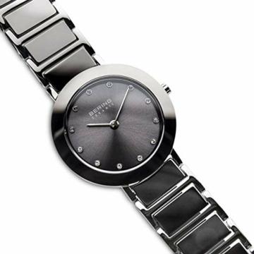 BERING Damen Analog Quarz Uhr mit Edelstahl Armband 11429-783 - 3