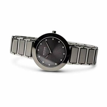 BERING Damen Analog Quarz Uhr mit Edelstahl Armband 11429-783 - 4