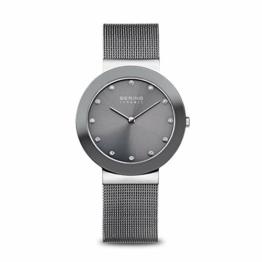 BERING Damen Analog Quarz Uhr mit Edelstahl Armband 11435-389 - 1