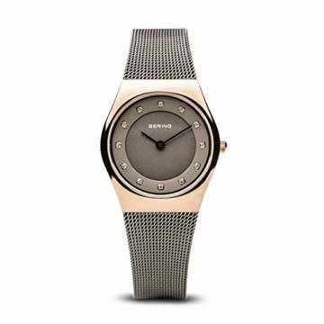 Bering Damen Analog Quarz Uhr mit Edelstahl Armband 11927-369 - 1