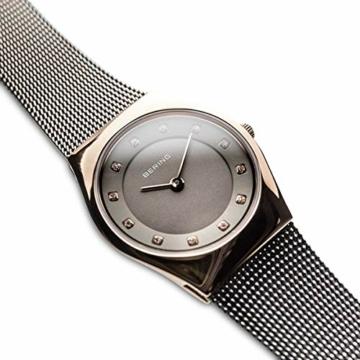 Bering Damen Analog Quarz Uhr mit Edelstahl Armband 11927-369 - 3