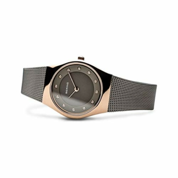 Bering Damen Analog Quarz Uhr mit Edelstahl Armband 11927-369 - 4