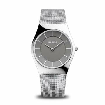 BERING Damen Analog Quarz Uhr mit Edelstahl Armband 11936-309 - 1