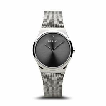BERING Damen Analog Quarz Uhr mit Edelstahl Armband 12130-009 - 1