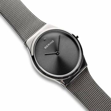 BERING Damen Analog Quarz Uhr mit Edelstahl Armband 12130-009 - 3