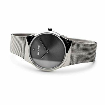BERING Damen Analog Quarz Uhr mit Edelstahl Armband 12130-009 - 4