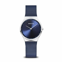 BERING Damen Analog Quarz Uhr mit Edelstahl Armband 12131-307 - 1