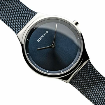 BERING Damen Analog Quarz Uhr mit Edelstahl Armband 12131-307 - 3