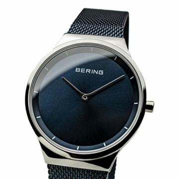 BERING Damen Analog Quarz Uhr mit Edelstahl Armband 12131-307 - 4