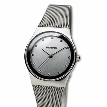 Bering Damen Analog Quarz Uhr mit Edelstahl Armband 12927-000 - 2