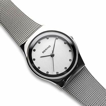 Bering Damen Analog Quarz Uhr mit Edelstahl Armband 12927-000 - 3
