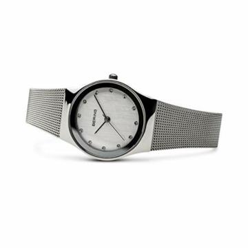 Bering Damen Analog Quarz Uhr mit Edelstahl Armband 12927-000 - 4