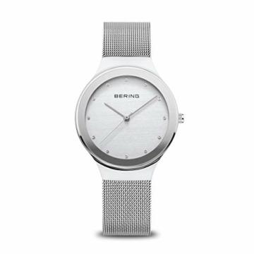 BERING Damen Analog Quarz Uhr mit Edelstahl Armband 12934-000 - 1