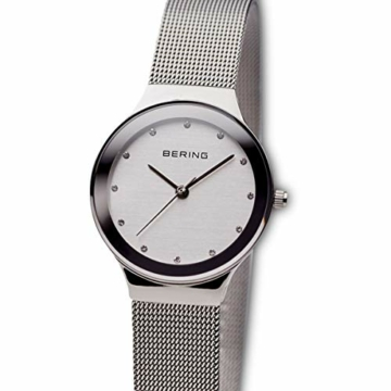 BERING Damen Analog Quarz Uhr mit Edelstahl Armband 12934-000 - 2
