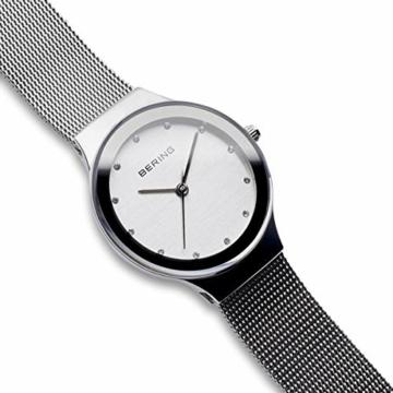 BERING Damen Analog Quarz Uhr mit Edelstahl Armband 12934-000 - 3