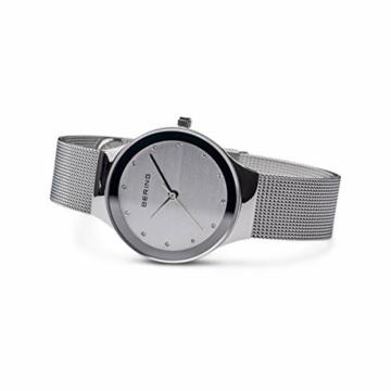 BERING Damen Analog Quarz Uhr mit Edelstahl Armband 12934-000 - 4