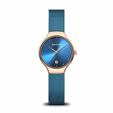 BERING Damen Analog Quarz Uhr mit Edelstahl Armband 13326-368 - 1