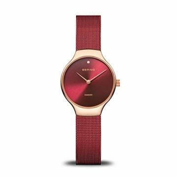 BERING Damen Analog Quarz Uhr mit Edelstahl Armband 13326-Charity - 1