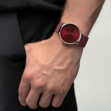 BERING Damen Analog Quarz Uhr mit Edelstahl Armband 13338-Charity - 5
