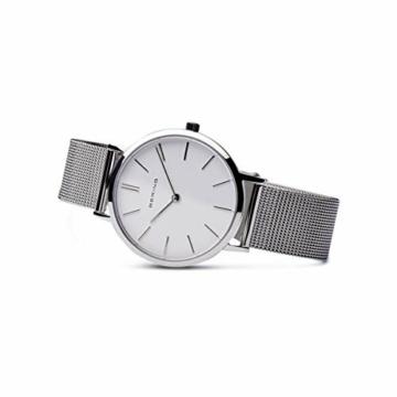 BERING Damen Analog Quarz Uhr mit Edelstahl Armband 14134-004 - 4